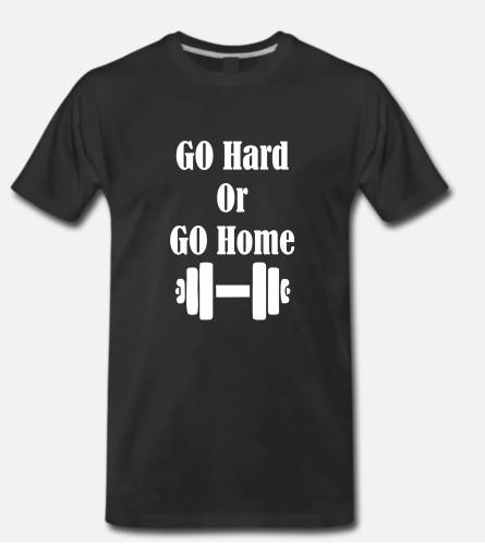 Go hard go home dumbbell
