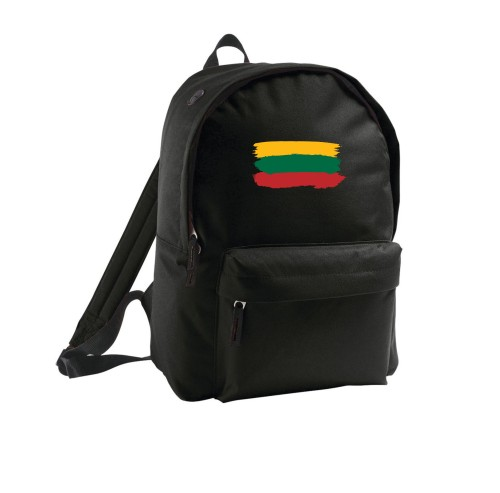 Small travel backpack Lithuanian flag