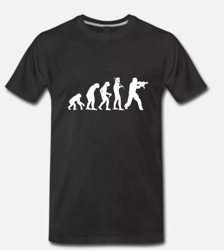 Counter-Strike human evolution
