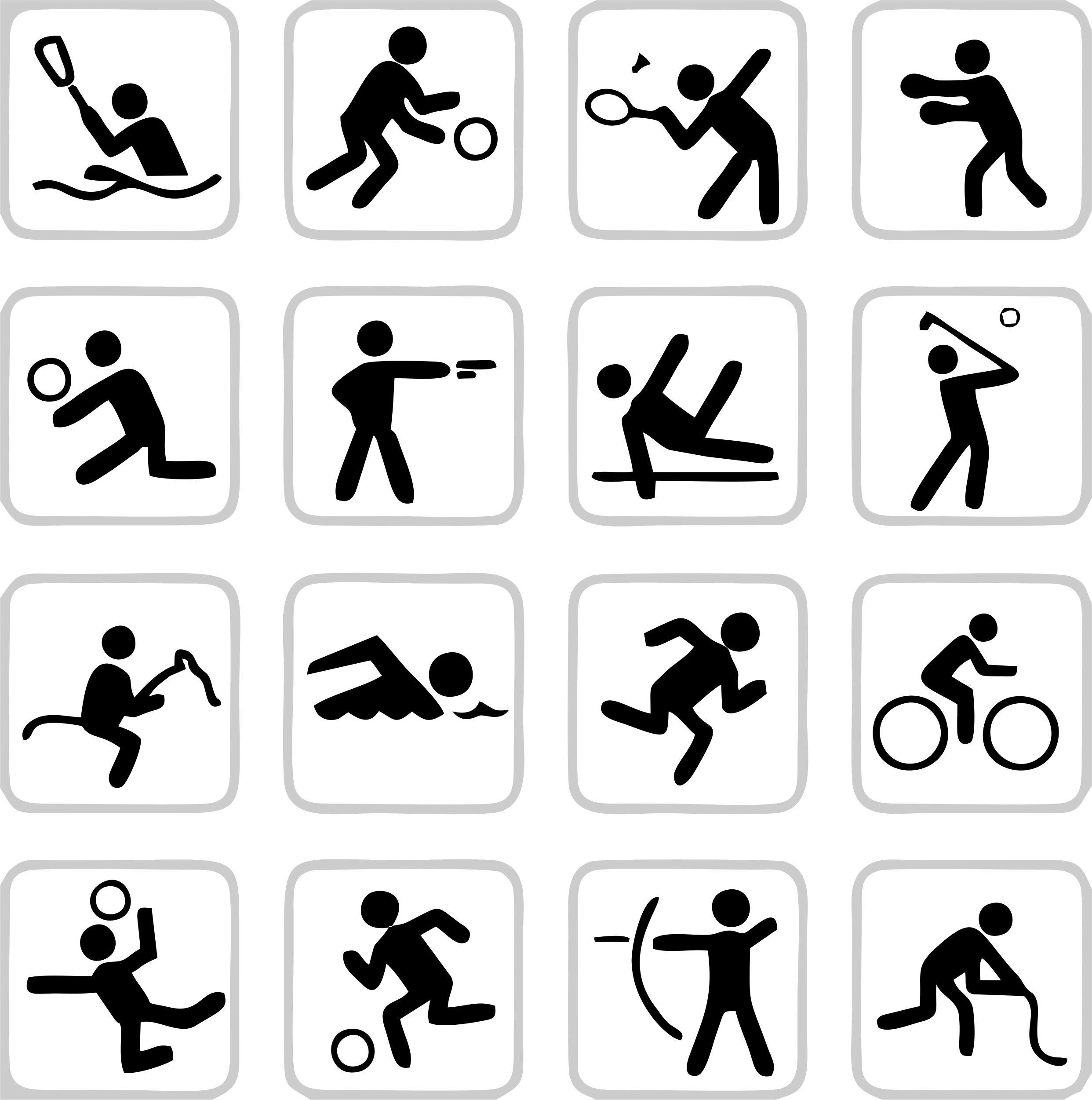 Картинки к различным видам спорта